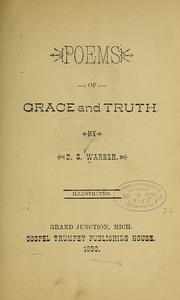 Cover of: Poems of grace and truth