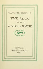 Cover of: The man on the white horse