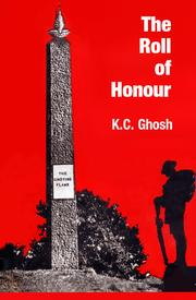 Cover of: The roll of honour