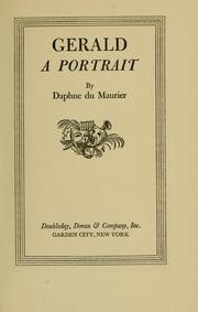 Cover of: Gerald: a portrait