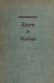 Cover of: Return to Malaya