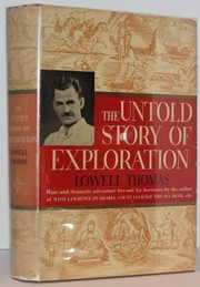 Cover of: The untold story of exploration