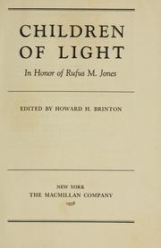 Cover of: Children of light