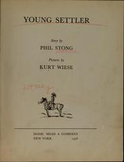 Cover of: Young settler
