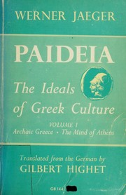 Cover of: Paideia