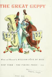Cover of: The great Geppy