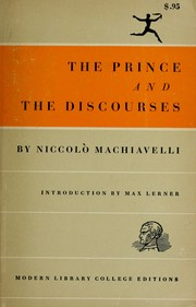 Cover of: The Prince and the Discourses