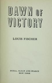 Cover of: Dawn of victory