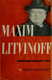 Cover of: Maxim Litvinoff