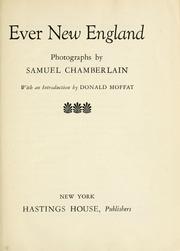Cover of: Ever New England