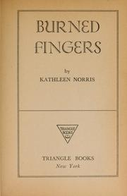 Cover of: Burned fingers