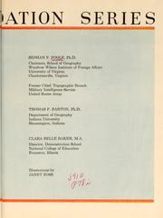 Cover of: Geography foundation series