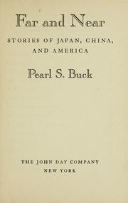 Cover of: Far and near