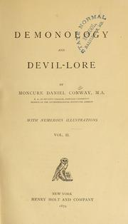 Cover of: Demonology and devil-lore