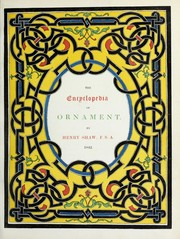 Cover of: The encyclopædia of ornament