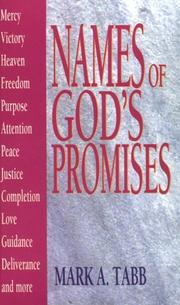 Cover of: Names of God's promises