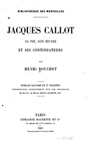 Cover of: Jacques Callot