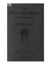 Cover of: The philanderer