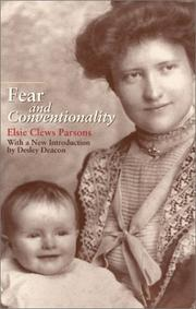 Cover of: Fear and conventionality