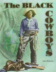 Cover of: The black cowboys
