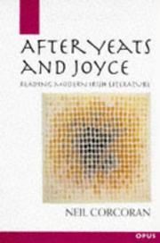 Cover of: After Yeats and Joyce