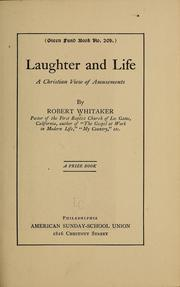 Cover of: Laughter and life