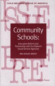 Cover of: Community schools