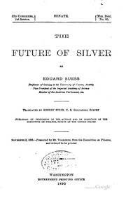 Cover of: The future of silver