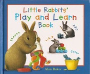 Cover of: Little rabbits' play and learn book