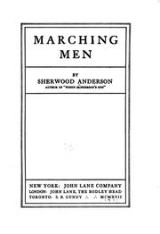Cover of: Marching Men