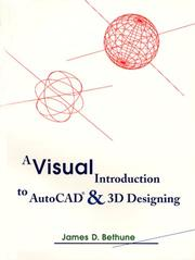 Cover of: A visual introduction to AutoCAD and 3D designing