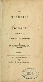 Cover of: The beauties of Plutarch