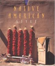Cover of: Native American style