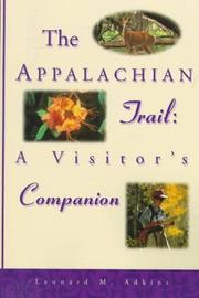 Cover of: The Appalachian Trail