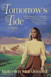 Cover of: Tomorrow's tide: a novel