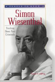 Cover of: Simon Wiesenthal