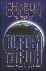 Cover of: Burden of truth