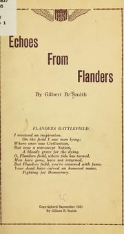 Cover of: Echoes from Flanders
