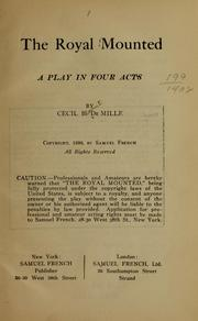 Cover of: The Royal mounted