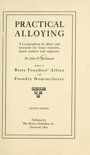 Cover of: Practical alloying