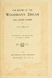 Cover of: The rhyme of the woodman's dream