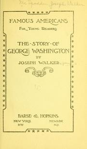 Cover of: The story of George Washington