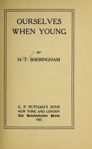 Cover of: Ourselves when young