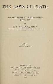 Cover of: Laws