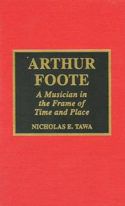 Cover of: Arthur Foote