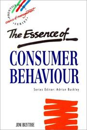 Cover of: The essence of consumer behaviour
