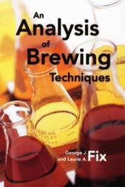 Cover of: An analysis of brewing techniques