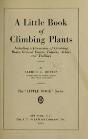 Cover of: A little book of climbing plants
