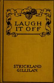 Cover of: Laugh it off