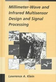 Cover of: Millimeter-wave and infrared multisensor design and signal processing